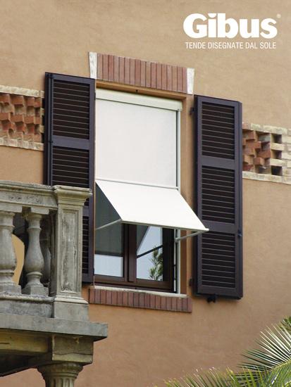 Tende a finestra gibus tende da sole artecotende verona for Tende a finestra