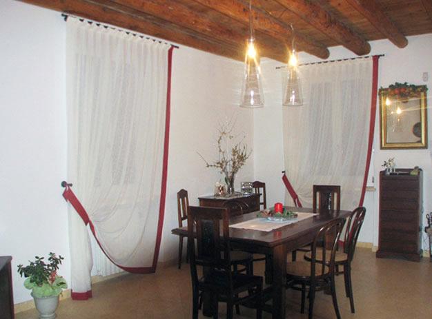 Tende per interni per la casa artecotende verona - Tende interni prato ...